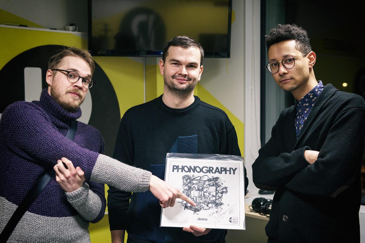 Ivo, Vaiko ja Jim plaadiga Phonography