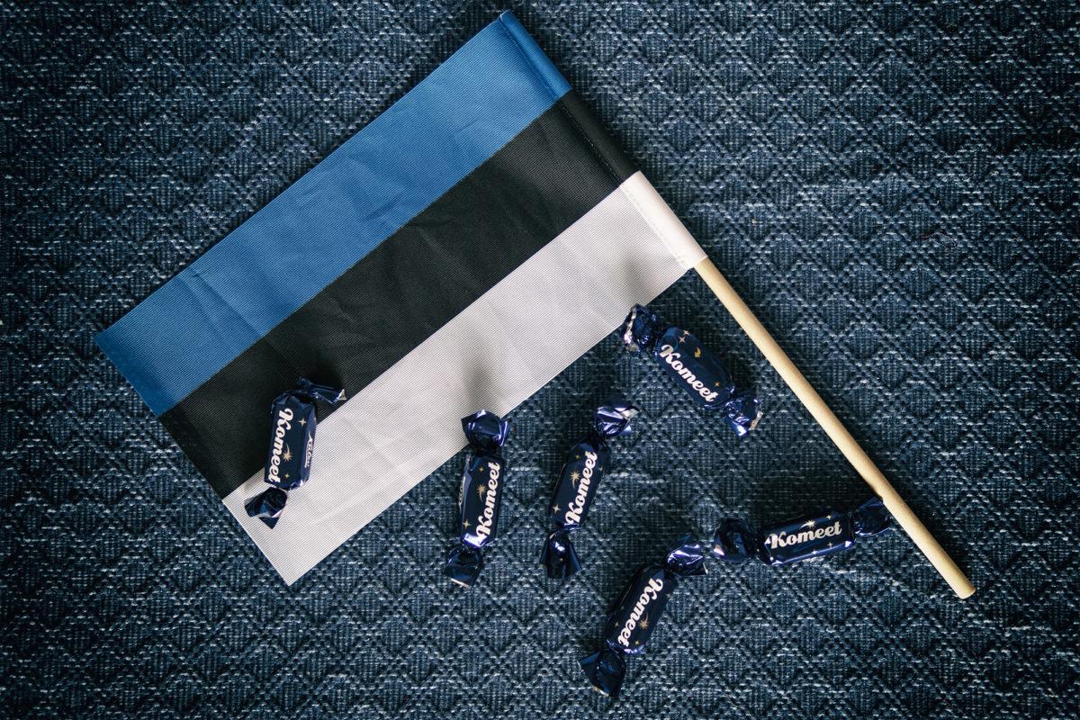 Eesti lipp ja komeedid