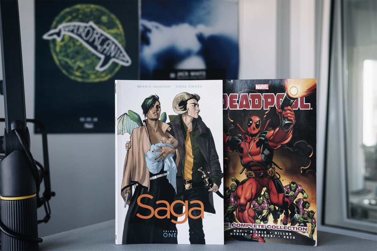 Saga ja Deadpool