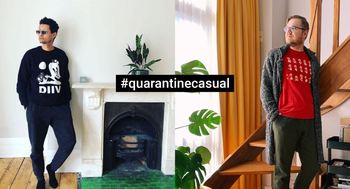 #casualquarantine