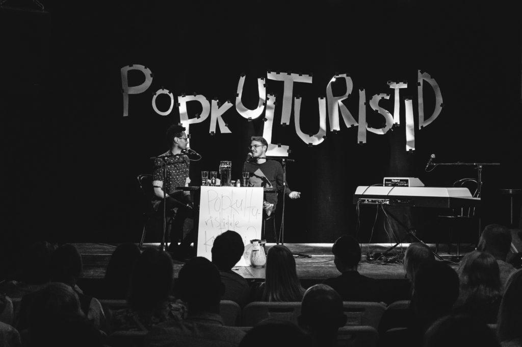 Popkulturistide esimese sünnipäeva tähistamine Von Krahlis